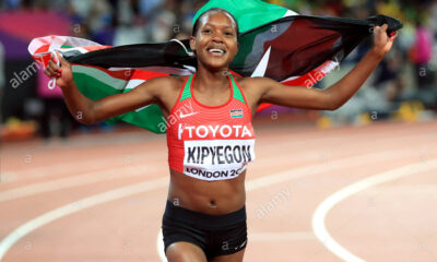 Faith Chepngetich Wins 1,500m Gold In Tokyo And Sets New Olympic RecordA
