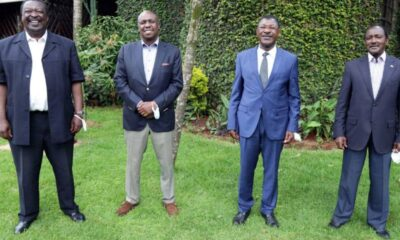 One Kenya Alliance To Field Presidential Candidate In 2022