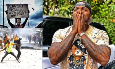 Rapper Khaligraph Calls Out Police After Kayole Chaos