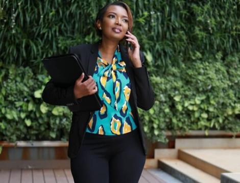 Karen Nyamu's Savage Reply To Fan Asking About Her Baby Bump
