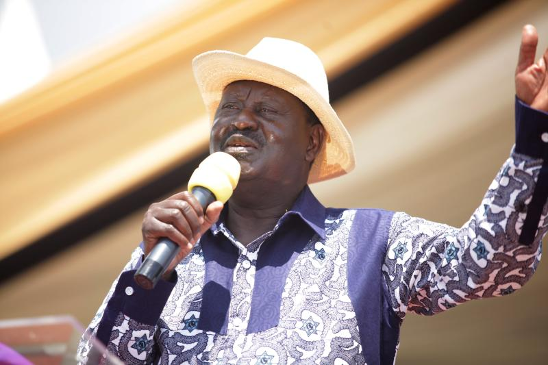 'I Have Forgiven Uhuru For Calling Me A Mad Man' - Raila Odinga