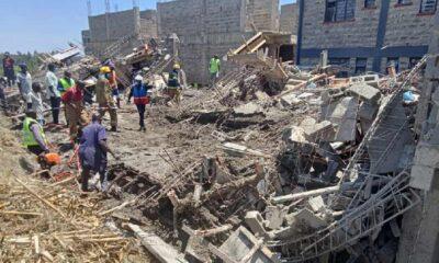 Third Body Retrieved From Building That Collapsed In Mamboleo, Kisumu