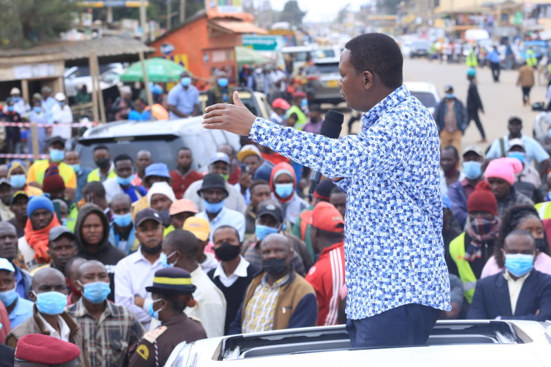 2022 Campaigns Should Not Derail Service Delivery, Says Alfred Mutua