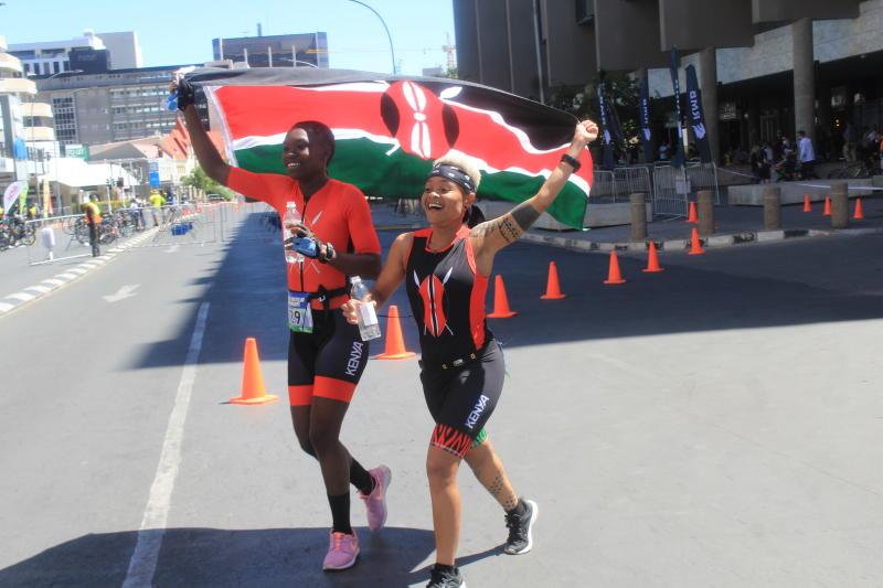 Kenya grabs three medals at maiden Africa Championship